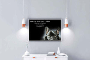 Frenchie is a friend Matte Poster ntan09092003