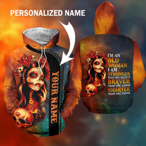 I am an old woman 3D Personalized name-aahn12102005