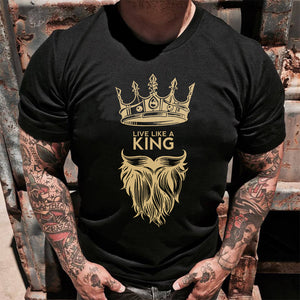 Live like a king Tshirt-bdnt23092004