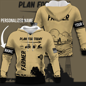 Plan for today 3D Personalized Sweatshirt,Hoodie