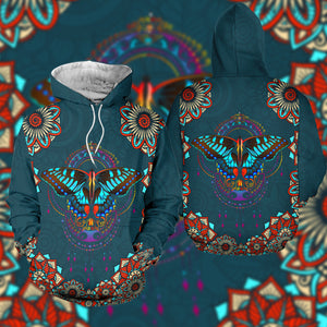 Corlorful Butterfly 3D T shirt, Sweater, Hoodie