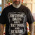Awesome dads have tattoos and beards Tshirt-bdnt22092001