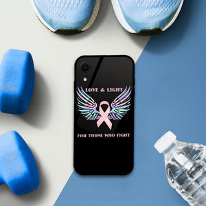 Breast Cancer Luminous Glow Phone Case for iPhone Samsung