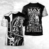 MAY - VIKING WARRIORS MY SCARS 3D SHIRT