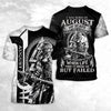 AUGUST - VIKING WARRIORS MY SCARS 3D SHIRT