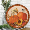 Pumpkin Sign for Home Decor