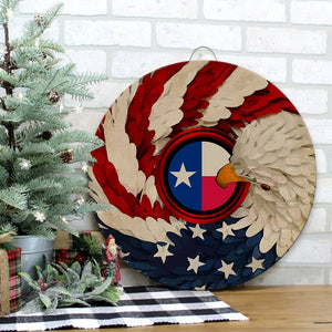 Texas Republic Wood Sign for Home Decor