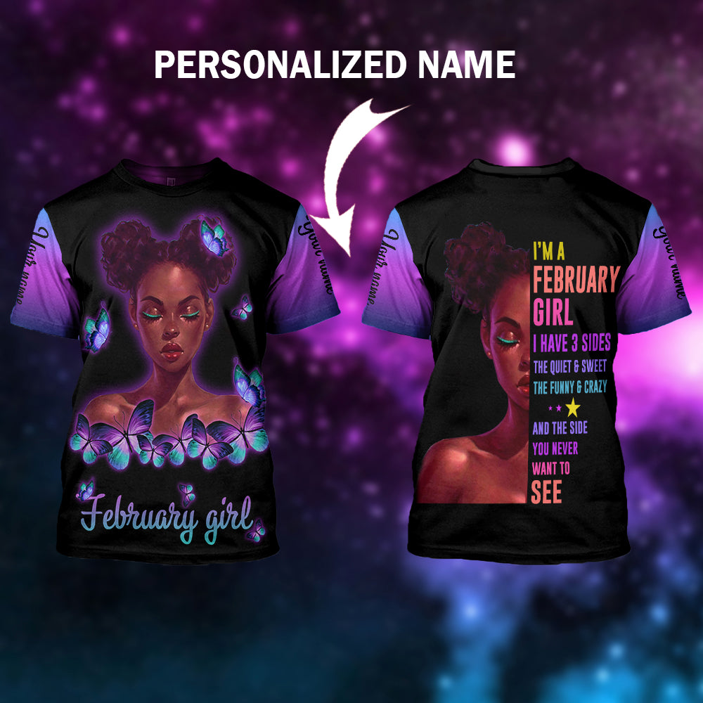 I have 2 sides Personalized Name - aahn13102001