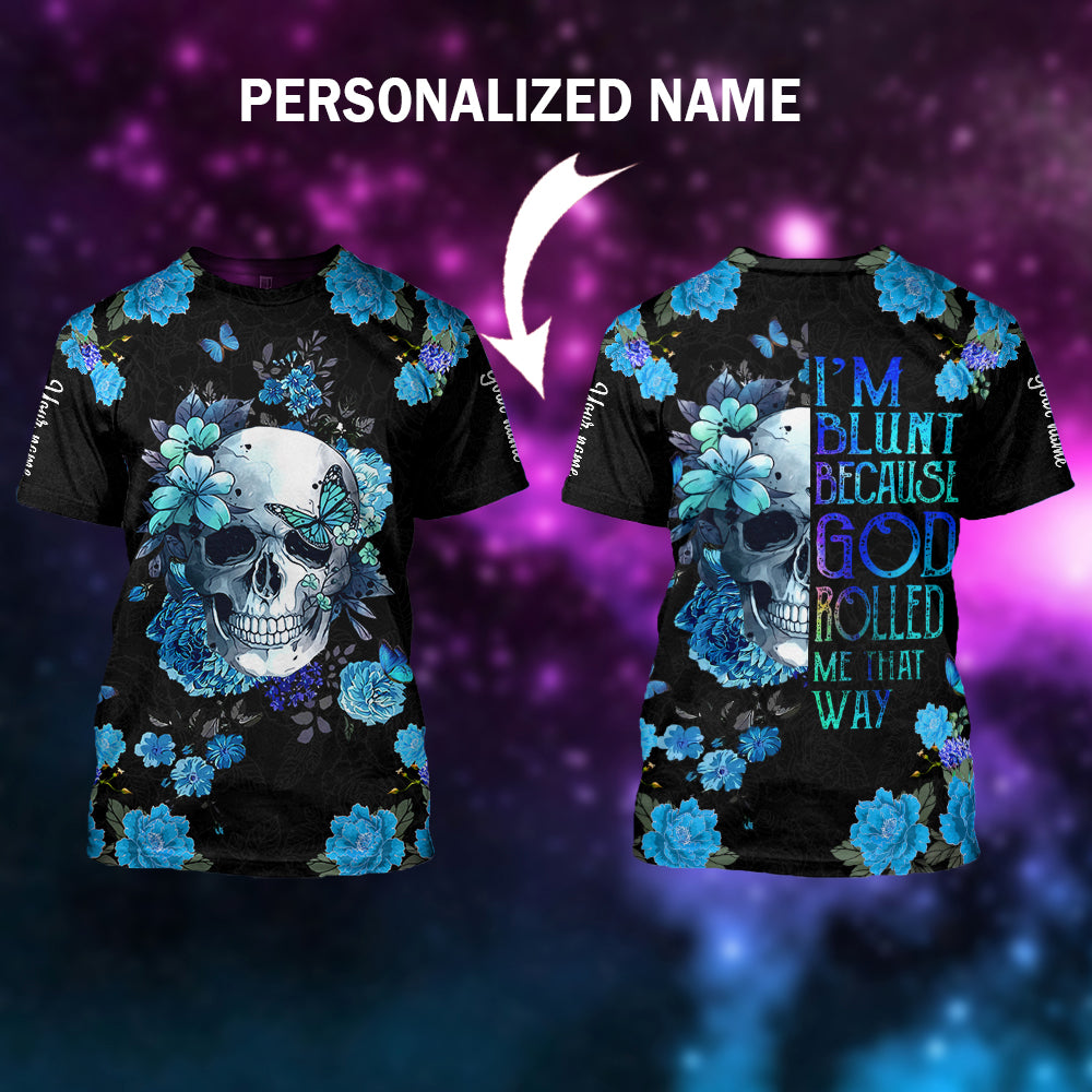 Skull lover personalized name-aahn14102001