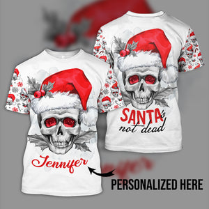 Santa's not dead personalized name - aavh19102004