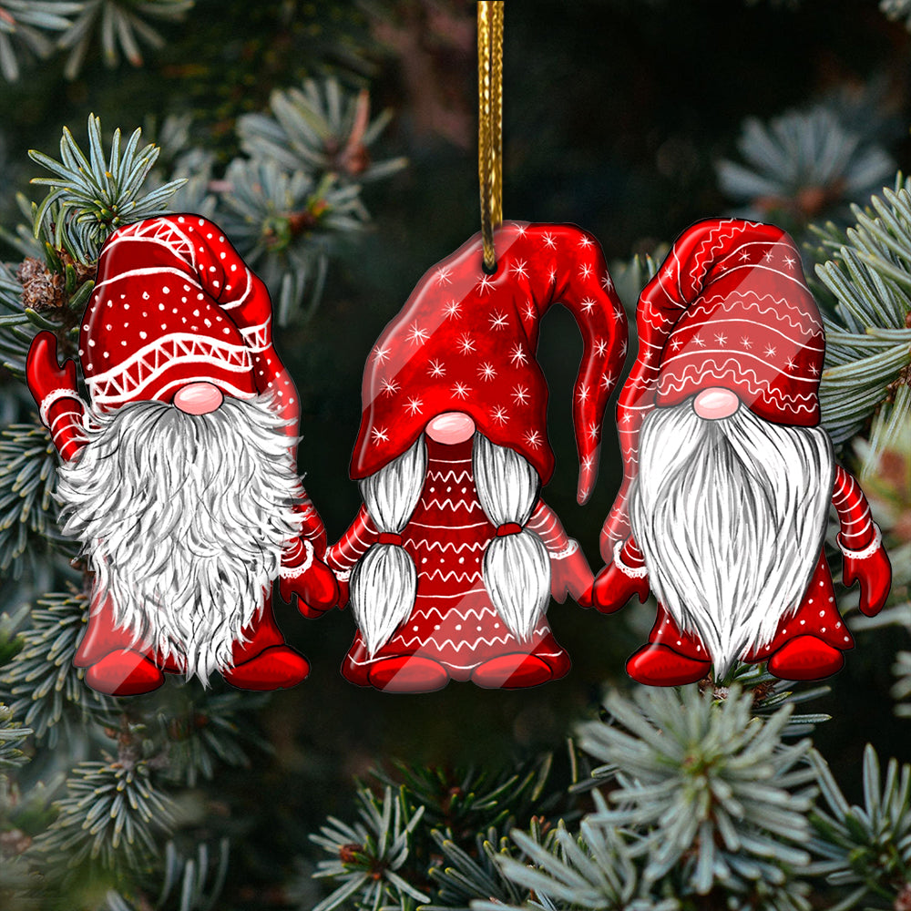 Merry Christmas Gnomies Ornament-aahn28102001-3