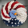 AMERICAN EAGLE WREATH WITH Tennessee Titans HOME DECOR