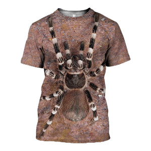 Tarantula Spider 3D All Over Printed Hoodie, T-Shirt, Sweater