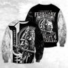FEBRUARY - VIKING WARRIORS MY SCARS 3D SHIRT