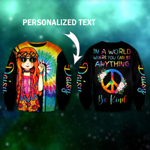 Hippie girl 3D personalized name-aahn19102003