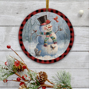 Snowman and Santa Ornament-tavh09112007