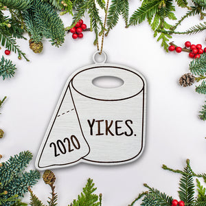 Toilet Paper Christmas Ornament