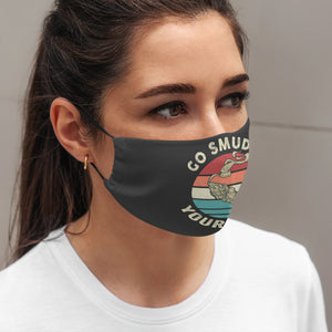 Native Go Smudge Yourself Mask 3D All Printed for Adult