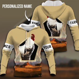 Farmland 3D Personalized Hoodie