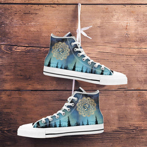 Lotus Star Night High Top Shoes blnh03092001