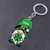 St Patricks Day Gnome, Green Clover - key chain