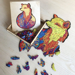 ANIMAL WOODEN JIGSAW PUZZLE