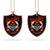 Custom Army Rank Wooden Car Hanging Ornament
