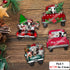 Christmas Farm Animals Truck Ornaments - ttxp11112004-ttxp11112007