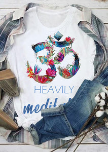 Heavily Meditated T shirt, Tank Top, Long Sleeve, Hoodie blnt07092004