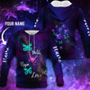 3D Hoodie Custom Name Butterfly - Customer's Product with price 45.99