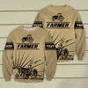 Farmer 3D Personalized Sweatshirt,Hoodie - Customer's Product with price 39.99