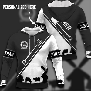 Farmer 3D Personalized T-shirt,Sweatshirt,Hoodie - Customer's Product with price 45.99