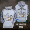 Goats make me happy 3D personalized hoodie aanh03112002 - Customer's Product with price 45.99