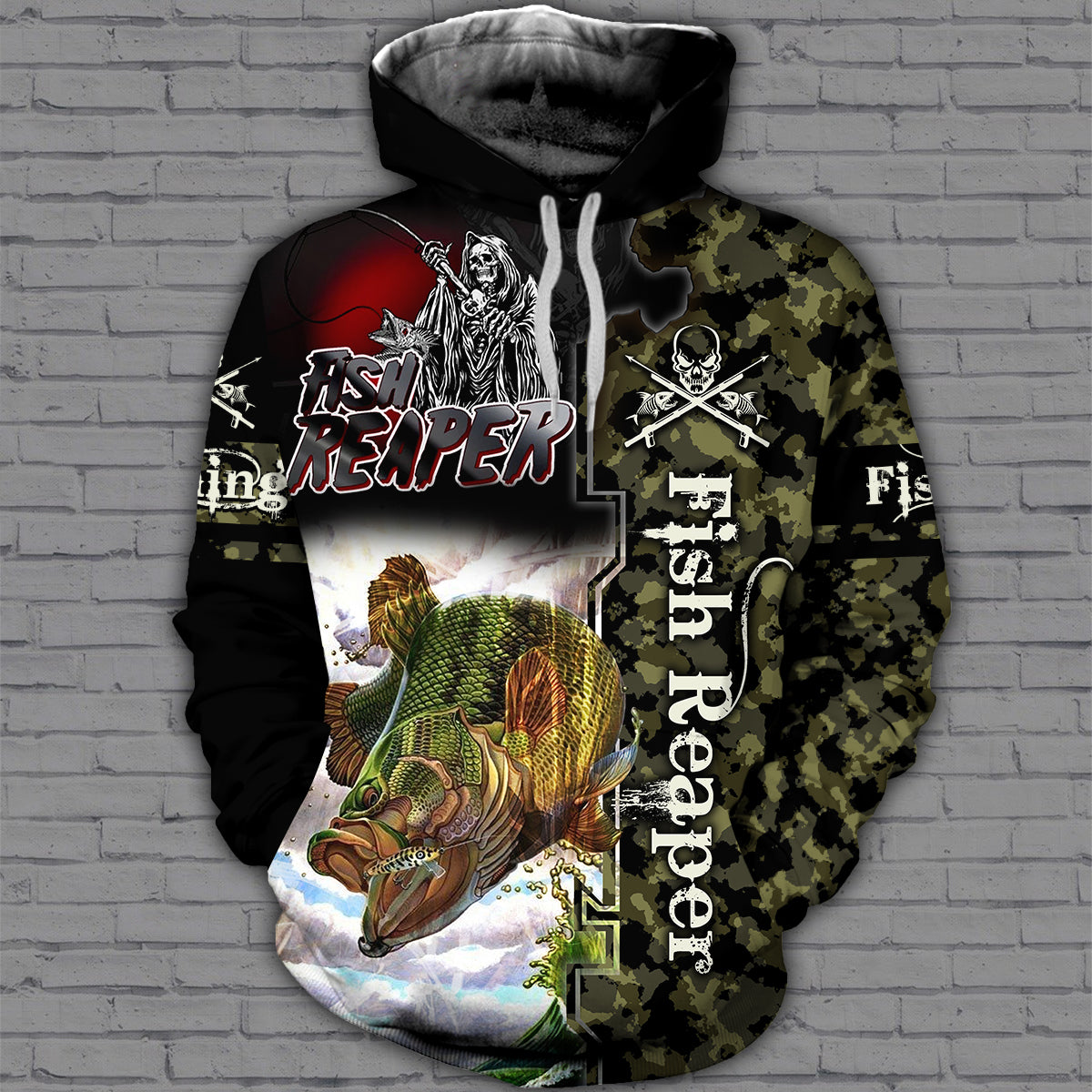 Fishing 3D All Over Printed Hoodie, T-Shirt, Sweater - datr141202