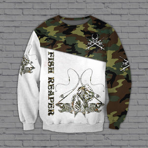Fishing 3D All Over Printed Hoodie, T-Shirt, Sweater datr161201