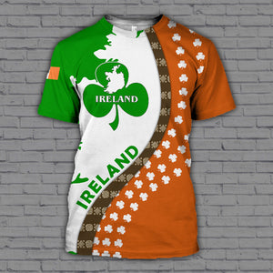 Ireland 3D All Over Printed Hoodie, T-Shirt, Sweater datr181203