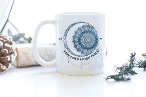 Stay Wild Moon Child Mug for Yoga Lover blnh20082001
