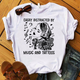 Easily distracted by music and tattoos Tshirt-bdnt23092005