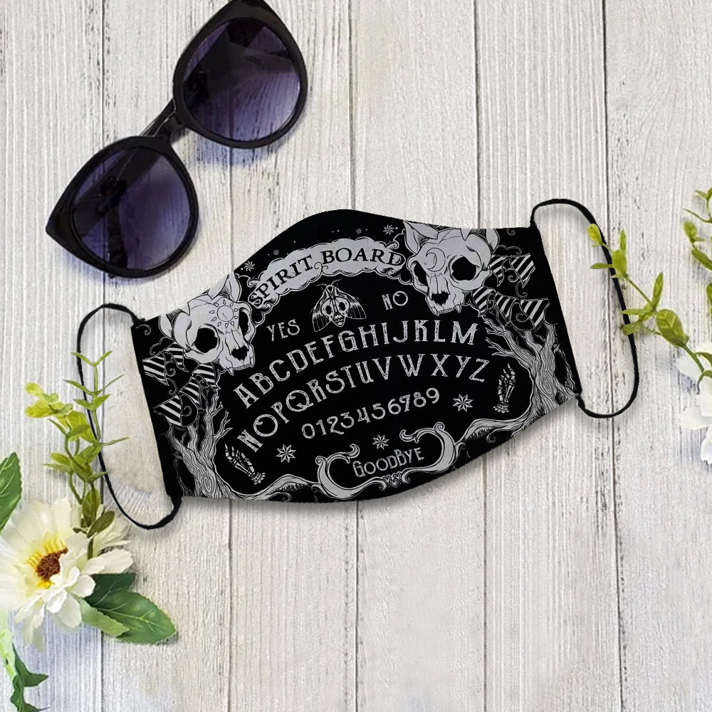 Ouija Board 3D Mask All Printed for Adult