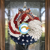 AMERICAN EAGLE WREATH WITH Los Angeles Chargers HOME DECOR