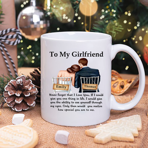 to my girlfriend Mug