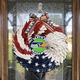 AMERICAN EAGLE WREATH WITH Seattle Seahawks- HOME DECOR