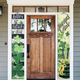 St. Patrick's Day Porch Sign, St patty's Porch Sign, Welcome Clover Porch Sign, Lucky Porch Sign, clover door hanger sign