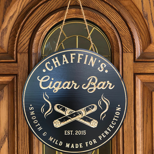 Cigar Bar Sign, Bar Signs, Cigars, Personalized Signs, Custom Bar Signs, Man Cave, Christmas Gift, Cigar Sign