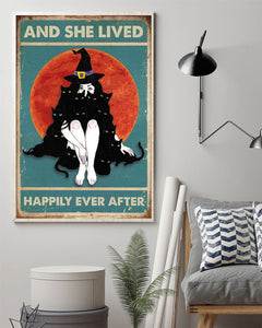And she lived happily ever after Matte Poster
