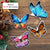 Butterfly Collection Mica Ornaments - ttvh13112001- ttvh13112004