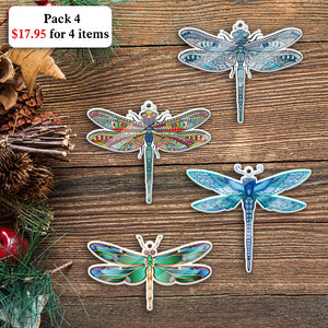 Dragonfly Mica Ornament