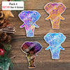 Colorful Elephant Mica Ornament