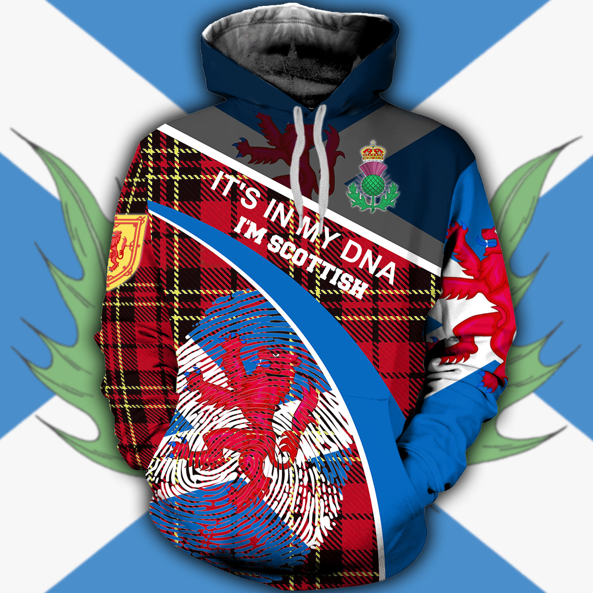 Scotland 3D All Over Printed Hoodie, T-Shirt, Sweater nah141202