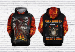 Skull 3D All Over Printed Hoodie, T-Shirt, Sweater natr091202